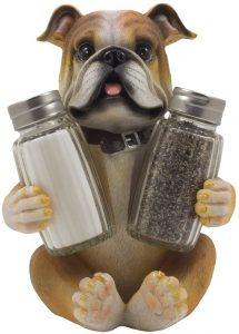 Bulldog salt & pepper shaker